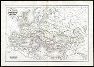 Map Of Europe 1840.Shop Maps And Topographical Eur Collections Art Collectibles