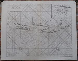 Antique Print-SEA CHART-NORWAY-LAPLAND-RUSSIA-VARDO-RYBACHY-Thornton-1702