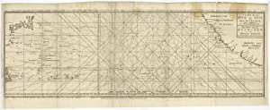 Antique Print-NAUTICAL CHART-PACIFIC-TRADE ROUTES-CALIFORNIA-Bellin-1747