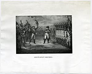 Antique Print-NAPOLEON-ARRIVAL-GRENOBLE-Adam-c.1822