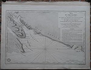 Antique Print-SEA CHART-CANADA-CAPE BRETON-NOVA SCOTIA-Sartine-Petit-1778