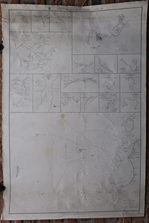 Antique Print-SEA CHART-INDONESIA-CELEBES-MAKASSAR-Belcher-Walker-1869