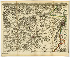 Antique Print-HASSELT-MAASTRICHT-TONGEREN-LIMBURG-Covens & Mortier-Fricx-1747