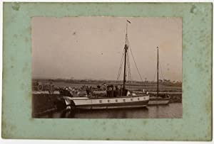 Rare Antique Print-PHOTOGRAPH-MERCHANT VESSEL-NIEUPOORT-Anonymous-ca. 1880-1900
