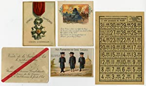 5 Antique Prints-FIRST WORLD WAR-EPHEMERA-RATION TICKET-Anonymous-ca. 1918