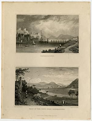 Antique Print-SOUTH WALES-ENGLAND-CEARMARTHEN-Gastineau-Barber-1831