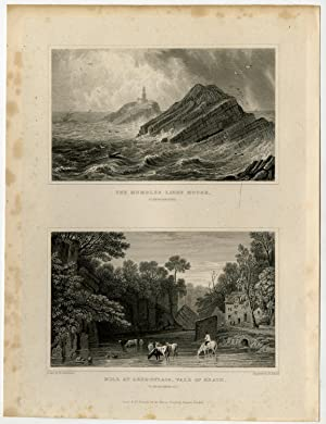 Antique Print-WALES-GLAMORGANSHIRE-VALE OF NEATH-Gastineau-Adlard -1831
