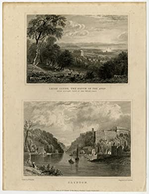 Antique Print-WALES-ENGLAND-CLIFTON-LEIGH COURT-Bartlett-Adlard-1830