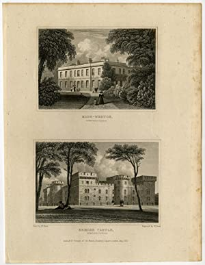 Antique Print-WALES-SOMERSETSHIRE-KING WESTON-ENMORE CASTLE-Neale-Bond-1830