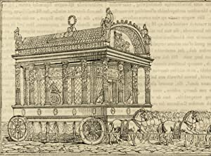 Antique Print-HISTORY-ALEXANDER THE GREAT-FUNERAL-HEARSE-Anonymous-ca. 1840
