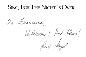 Sing, for the Night Is Over : A Memoir: Floyd, Bill with Dick Parker