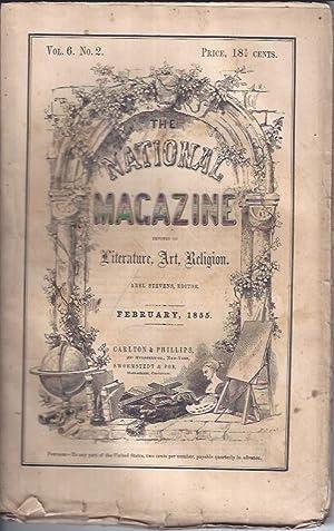 The National Magazine, Devoted to Literature, Art, Religion: Stevens, Abel, (ed.)