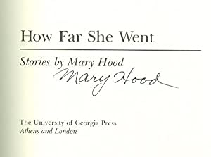 How Far She Went: Hood, Mary