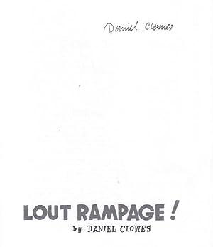 Lout Rampage: Clowes, Daniel