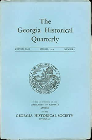The Georgia Historical Quarterly