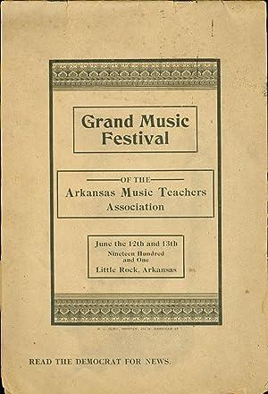 Grand Music Festival of the Arkansas Music Teachers Association