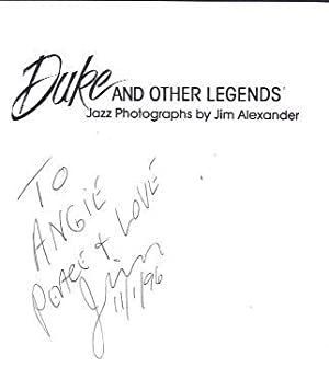 Duke and Other Legends: Alexander, Jim (photographer)