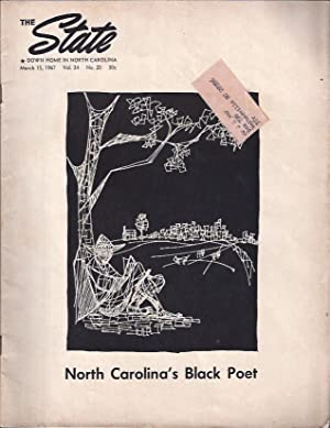 The Black Poet The State: Down Home in North Carolina: Sharpe, Bill