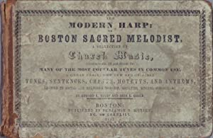 The Modern Harp: A Collection of Church Music: White, Edward L. and John E. Gould