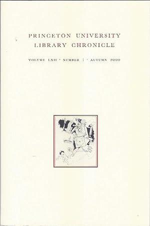 Princeton University Library Chronicle, Autumn 2000: Oberfranc, Gretchen M. (Ed. )
