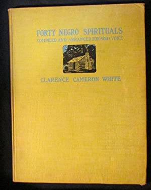 Forty Negro Spirituals: White, Clarence Cameron (arr.)