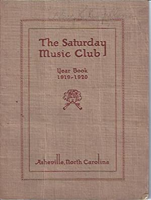 The Saturday Music Club, Year Book, 1919-1920: Campbell, Mrs. Robert F. (pres.)