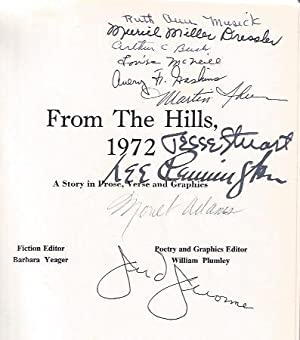 From the Hills, 1972 : . a story in prose, verse and graphics: Plumley. William and Babara Yeager (...