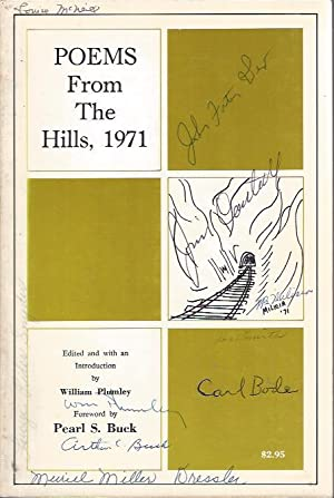 Poems from the Hills, 1971: Plumley. William (Ed.)