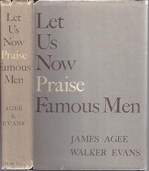 Let Us Now Praise Famous Men: Agee, James and Walker Evans