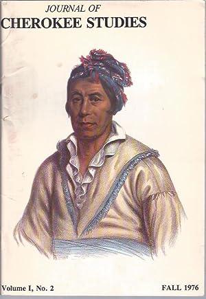 Journal of Cherokee Studies, Fall 1976: King, Duane H.