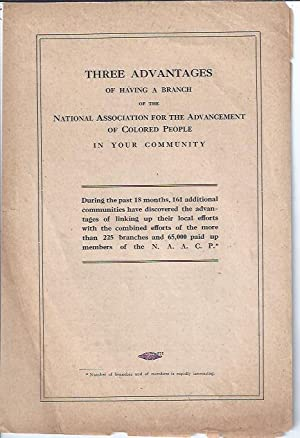 Three Advantages of Having a Branch of the National Association for the Advancement of Colored ...