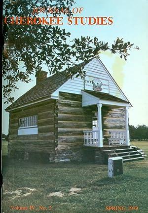 Journal of Cherokee Studies