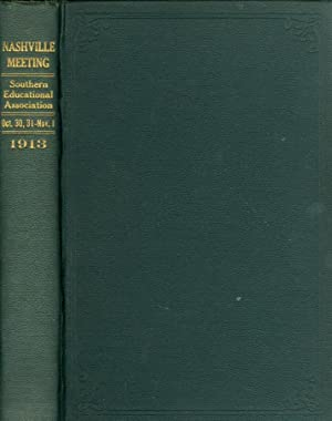 Journal of Proceedings and Addresses of the Twenty-Fourth Annual Meeting Held At Nashville, ...