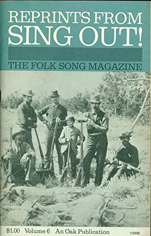 Reprints from Sing Out! The Folk Song: Silber, Irwin (ed.)