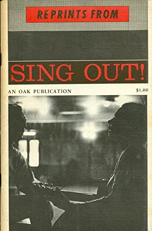 Reprints from Sing Out! The Folk Song Magazine: Silber, Irwin (ed.)