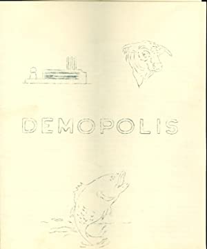 Demopolis Alabama Tourist Pamphlets 1959