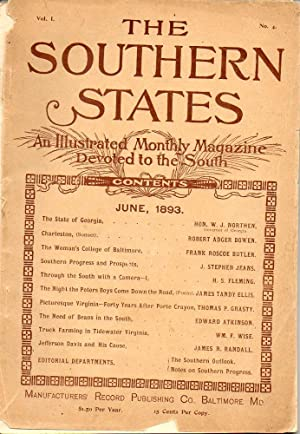 The Southern States An Illustrated Monthly Magazine Devoted to the South