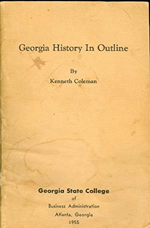 Georgia History in Outline: Coleman, Kenneth