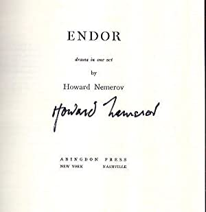 Endor drama in one act: Nemerov, Howard