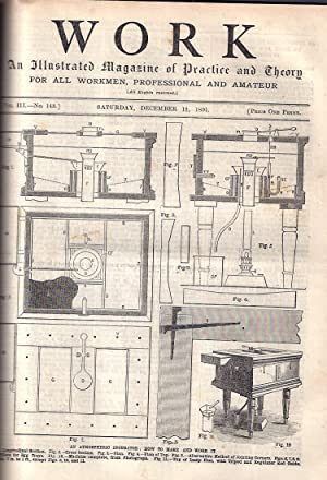 Work -- 1891-92 :An Illustrated Magazine of Practice and Theory for All Workmen, Professional and ...