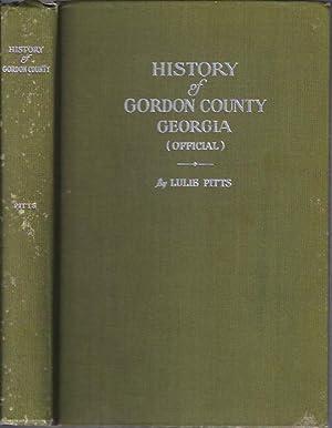 History of Gordon County Georgia: Pitts, Lulie