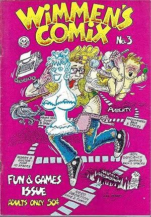 Wimmen's Comix, No. 3: Rudahl, Sharon