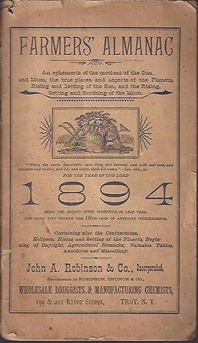 Farmers' Almanac: Plum, Matthias