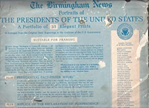 Portraits of the Presidents of the United States: Birmingham News
