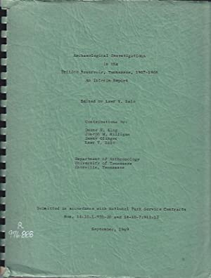 Archaeological Investigations in the Tellico Reservoir, 1967-1968, an Interim Report: Salo, Lawr V....
