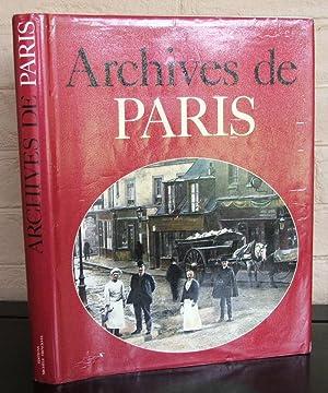 Archives de Paris: Viasnoff Borgé