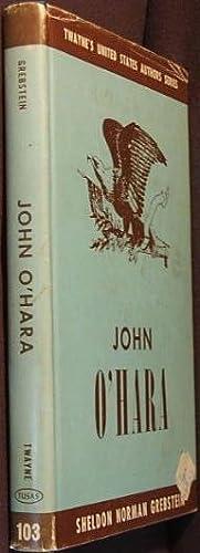 John O'hara: Grebstein, Sheldon Norman
