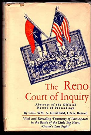 The Reno Court of Inquiry; Abstract of: Graham, Col. Wm.