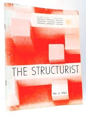 The Structurist: No. 3, 1963: Bornstien, Eli