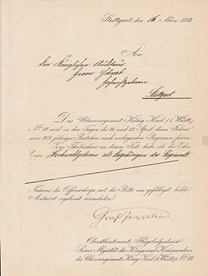 FERDINAND GRAF VON ZEPPELIN (1883-1917) dt. General & Luftschiffer, Erfinder des nach ihm ...